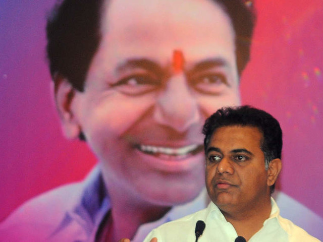 KCR appoints son KTR as TRS working president