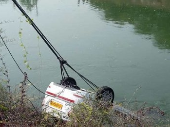 Telangana: Three drown as car plunges into canal in Nalgonda
