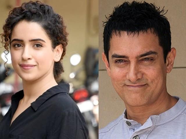 'मला आमिर खान मिस्टर परफ्केशनिस्ट वाटत नाही'; सान्याला असं का वाटलं?