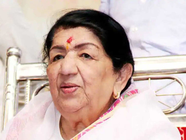 Lata Mangeshkar's health improves