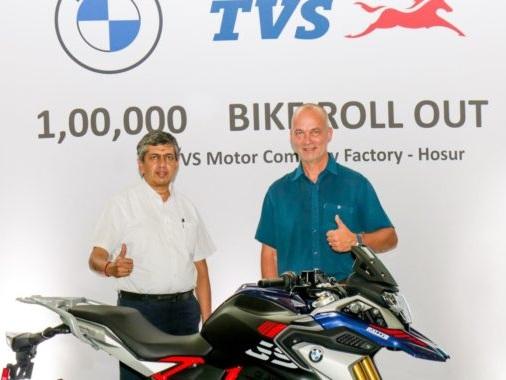 BMW G 310 Twins Breach 1 Lakh Unit Production Milestone