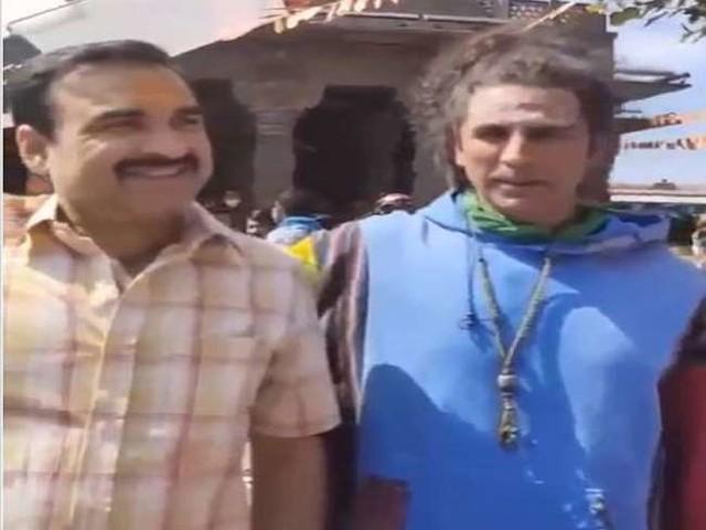Akshay Kumar ने फिल्म 'ओ माय गॉड 2' की शूटिंग की शुरू, पंकज त्रिपाठी के साथ आए नजर, वीडियो हुआ वायरल