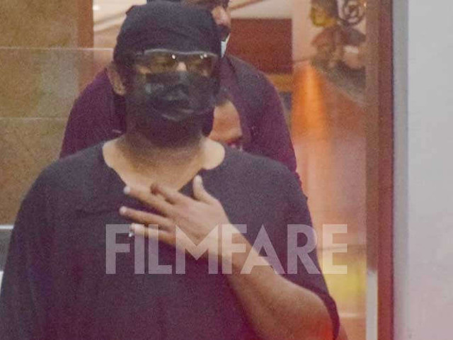 Prabhas clicked at the airport