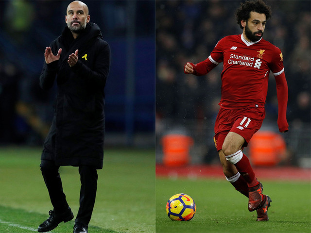 Guardiola and Salah win November Premier League awards