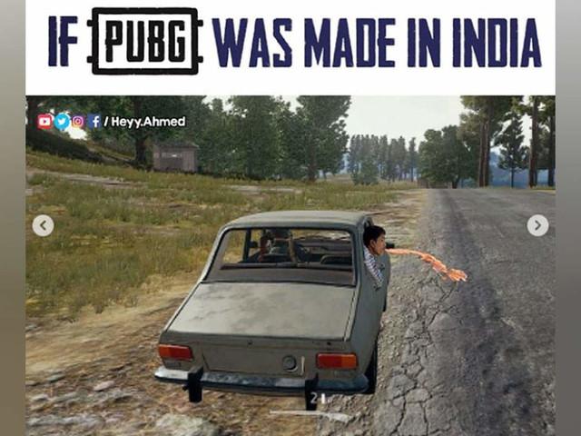 ए जी, ओ जी, देखो आया इंडिया वाला PUBG