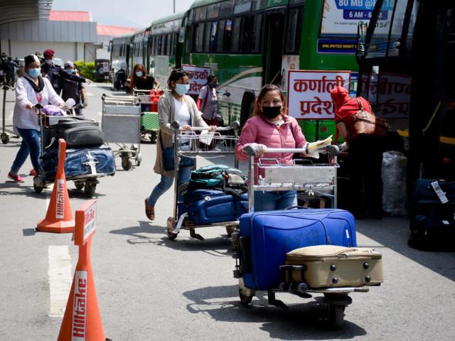 Eight repatriation flights bring 1,207 Nepalis home