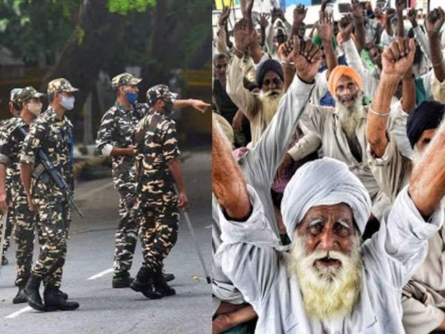 कांग्रेस सांसदों के खिलाफ कृषि कानून विरोधी प्रदर्शनकारियों का किसान संसद में निंदा प्रस्ताव