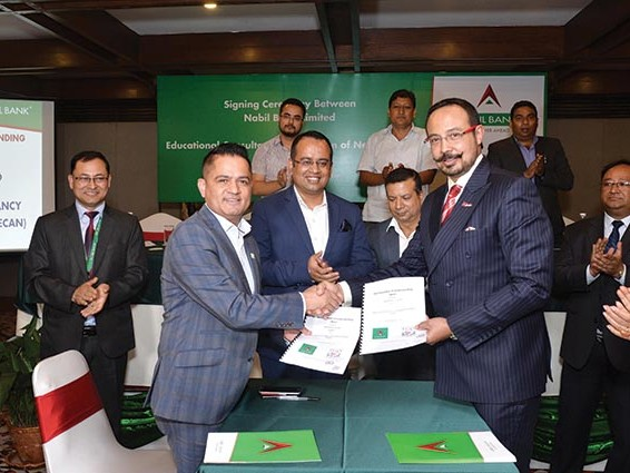 Nabil to provide banking services to ECAN