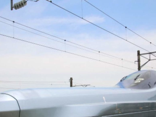 New bullet train model 'Supreme' hits record speed in test run