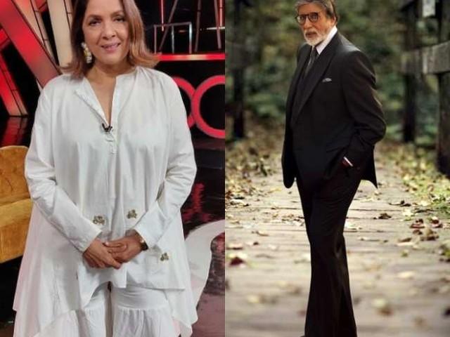 जब अमिताभ बच्चन के साथ फोटोशूट करवाते हुए नीना गुप्ता ने कहा, 'मैं नर्वस हूं', बिग बी ने ऐसे किया रिएक्ट