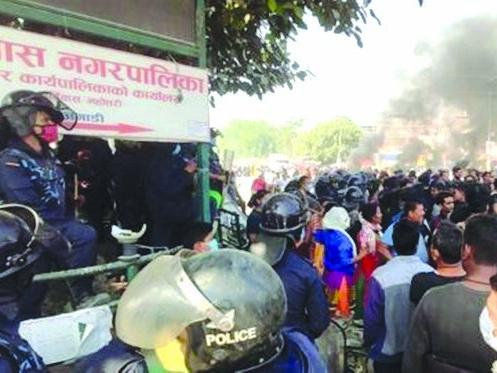 Locals protest minor's rape, murder