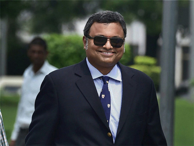 ED attaches Rs 1.16 crore assets of Karti Chidambaram, firm allegedly linked to him