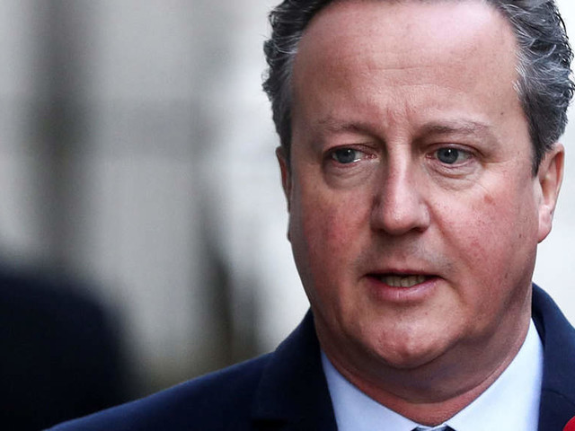 UK former PM David Cameron says Greensill lobbying should have been through formal channels
