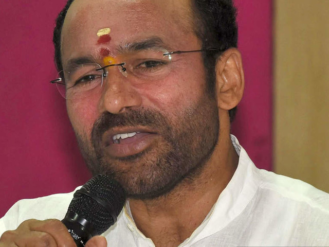 Union minister GK Reddy slams China, Pakistan for interfering in Indian affairs