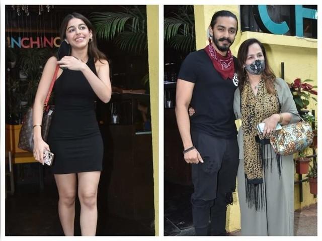 Alaya with rumoured boyfriend Aishvary