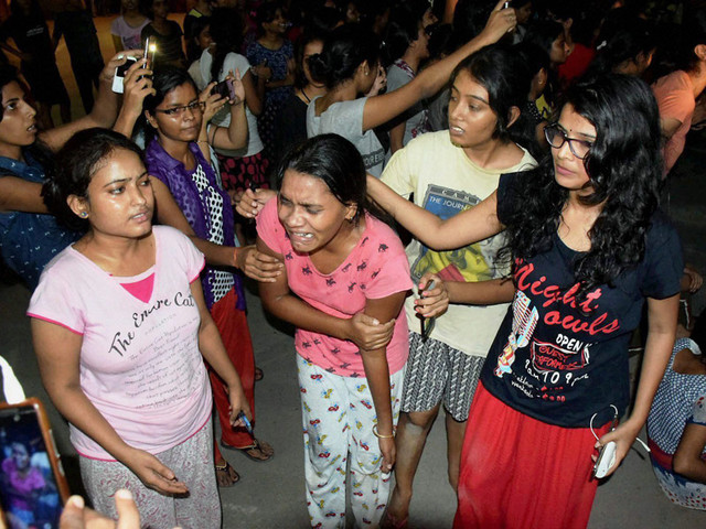 Many students injured as BHU protest turns violent