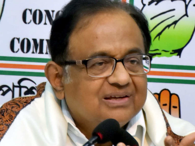 Govt covering up its failure in COVID vaccination through rhetoric, hyperbole: Chidambaram