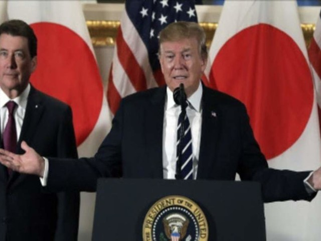 Trump urges greater Japanese investment in US, knocks trade advantage