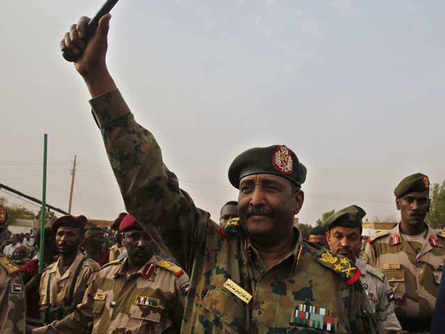Sudan's top general sworn in as leader of new ruling body