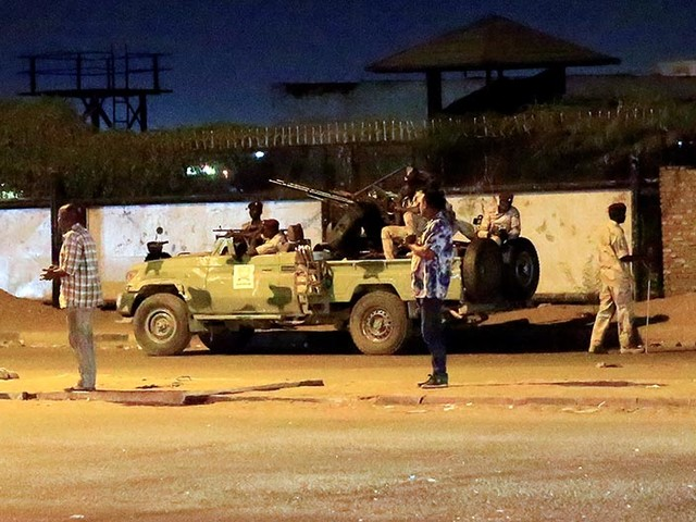 Sudanquells revolt of former spy service men after clashes