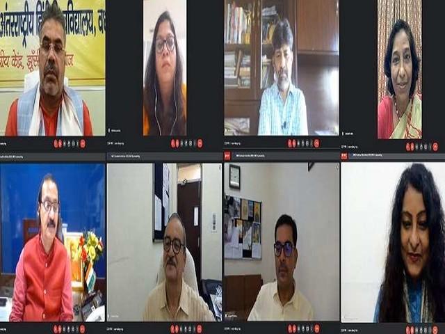 Hindi Diwas: अंतरराष्ट्रीय हिंदी विश्वविद्यालय वर्धा के कुलपति ने कहा- मीडियम बदला है, 'मीडिया' नहीं