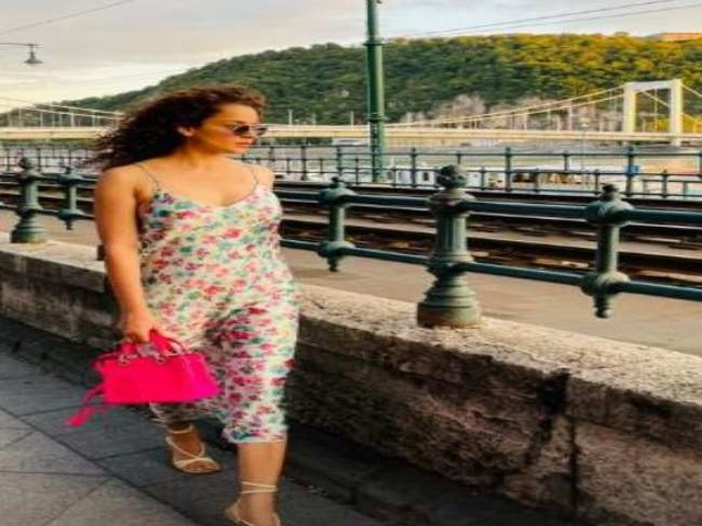 Kangana Ranaut ने एंजॉय किया 'हंगेरियन समर', बुडापेस्ट से शेयर की शानदार तस्वीर