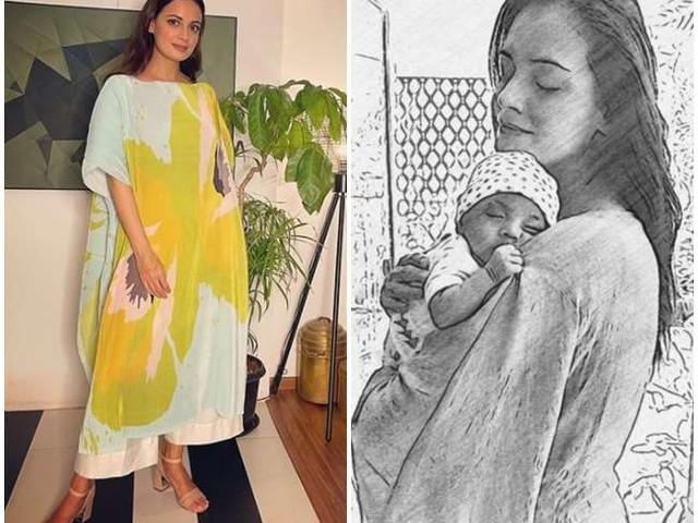 पांच महीने के बेटे को घर पर छोड़कर काम पर गईं दीया मिर्जा, बोलीं- 'ये बहुत मुश्किल था'
