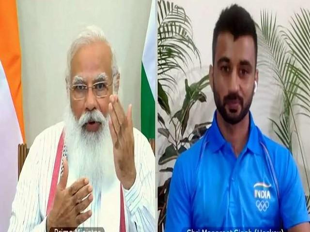 Tokyo Olympics: भारतीय पुरुष हॉकी टीम को बेल्जियम से मिली हार पर पीएम मोदी ने की कप्तान मनप्रीत से बात, कही ये दिल छू जाने वाली बात