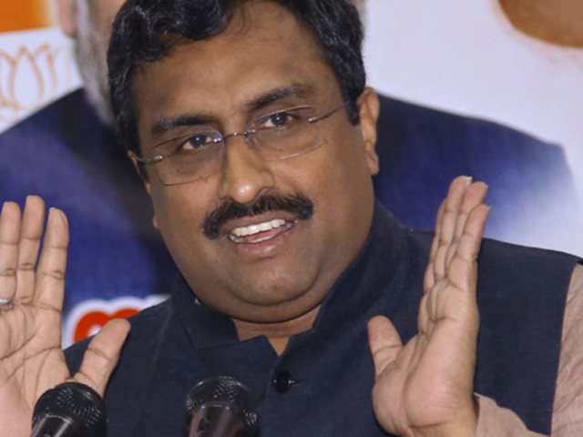 India, China resolved dispute over large segment of border: Ram Madhav