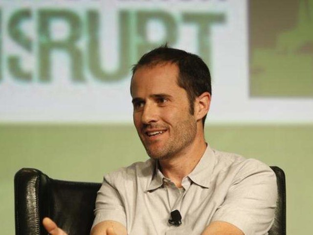 Twitter co-founder steps down from co board