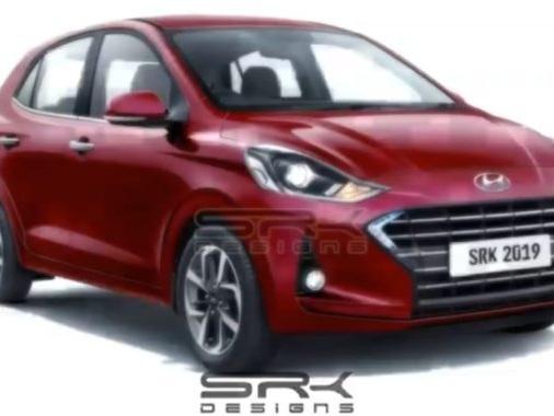 Next Generation Hyundai Xcent NIOS Digitally Rendered