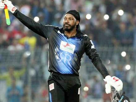 T20 में क्रिस गेल का तूफान, 126* में से बाउंड्री से ही बना डाले 108 रन