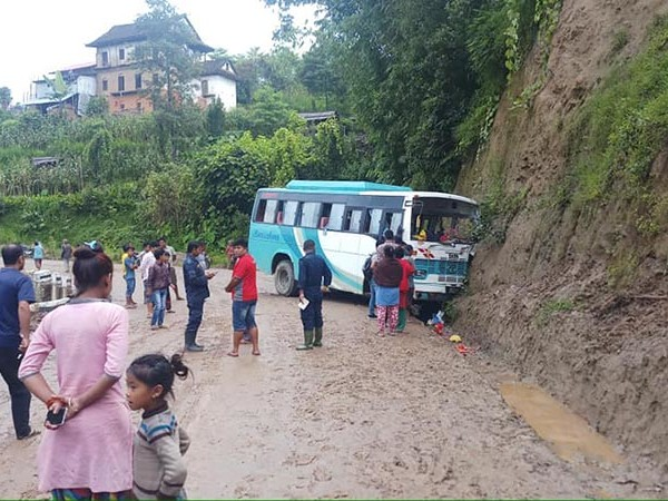 9 injured in Bhojpur bus accident
