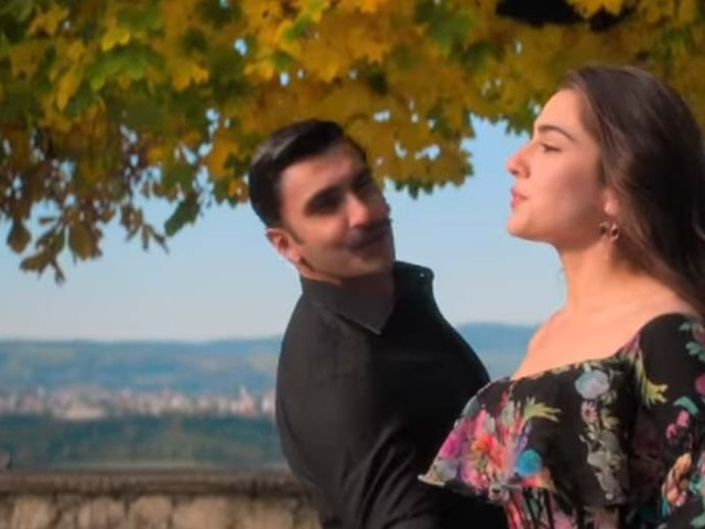 Check out the new romantic track from Simmba titled Tere Bin