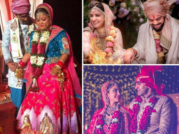 अनुष्का-भारती से अजय देवगन की 'बेटी' तक, इन 22 एक्ट्रेस ने की 2017 में शादी