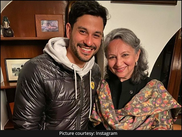 Kunal's sweet b'day wish for Sharmila Tagore