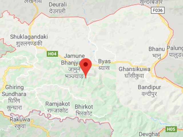 12 hurt in Tanahun bus accident