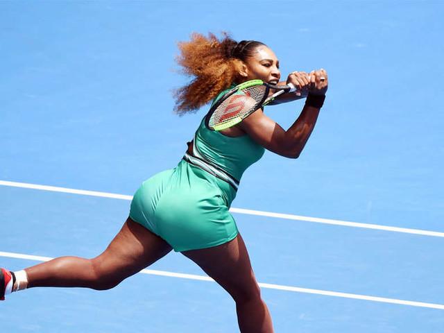 Australian Open: Serena Williams leaves her mark
