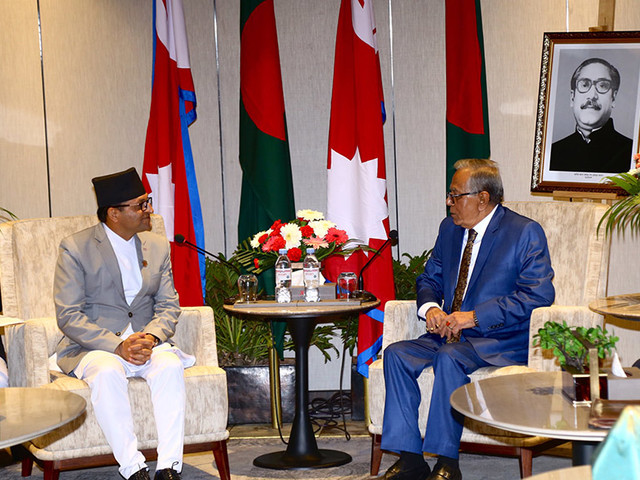 Political leaders call on President of Bangladesh