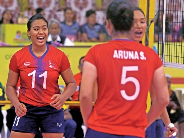 Nepal move to top