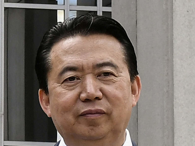 Missing Interpol chief reported detained in China