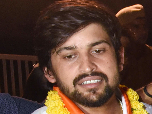 ABVP suspends DUSU president Ankiv Baisoya, NSUI says too late