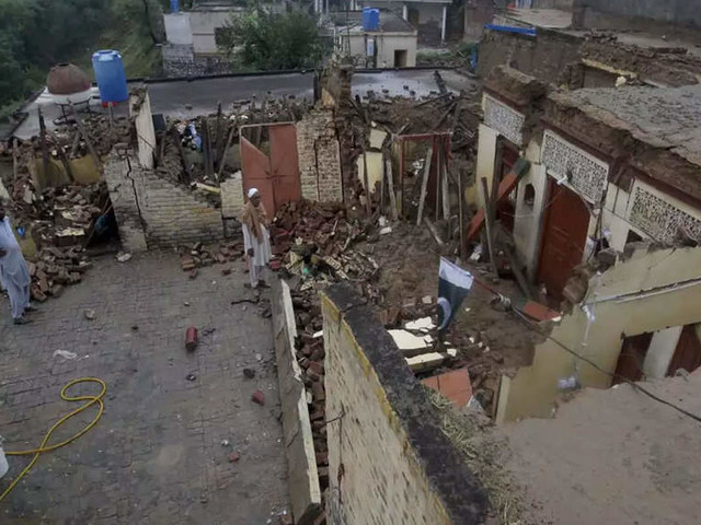 5.8 magnitude quake hits Pakistan's Khyber Pakhtunkhwa province