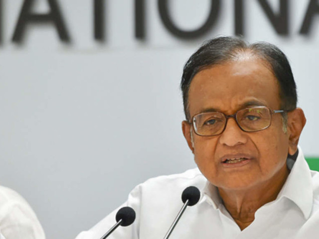 BJP ups the ante amid support for Chidambaram from Pakistan