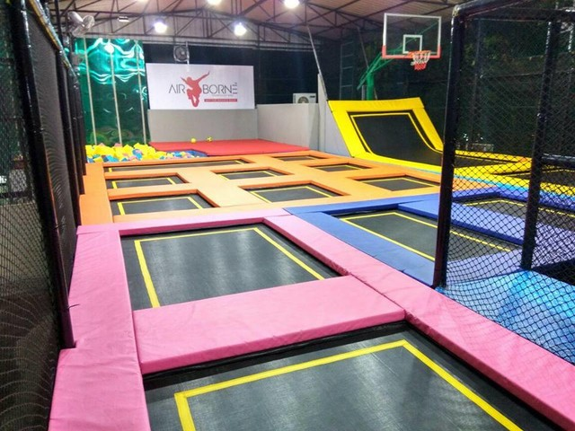 Airborne: Chennai's First Trampoline Park Is Now Open