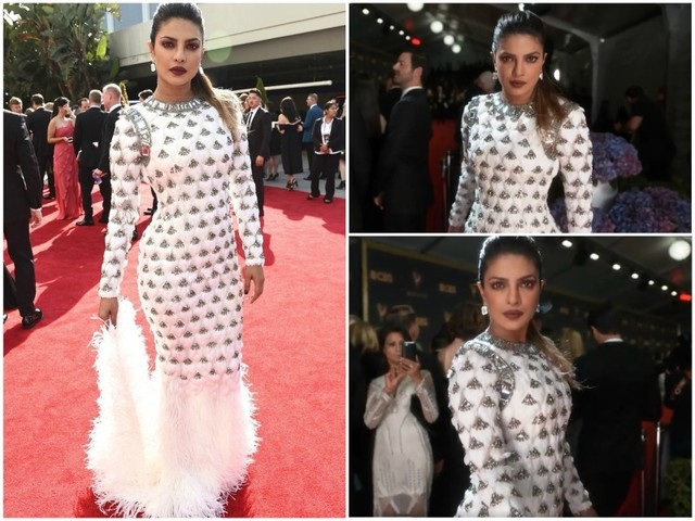 Priyanka's drop-dead gorgeous look at Emmy