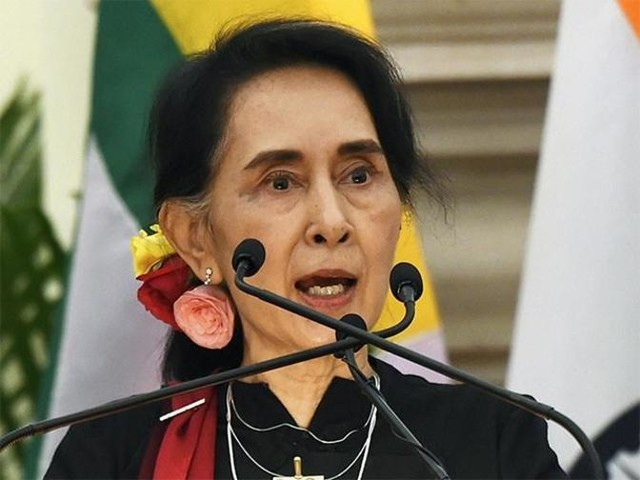 Aung San Suu Kyi's address to state on lines of talks with India