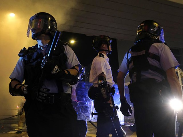 Amnesty calls on Hong Kong to investigate police action in protests