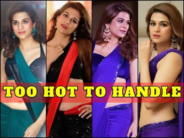 #TuesdayTreat! Sexy Saree Pics of Shraddha Das