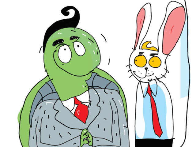 Who will win the race to retirement: Tortoise or hare?